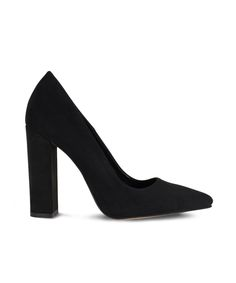 SANTE pointed toe and block heel pump for classy looks. Designer High Heels, How To Look Classy, Block Heels, Toe, Pumps, Fashion Design, Black, Choux Pastry, Black People