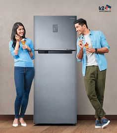 The most common and convenient type of refrigerator is double door refrigerators. With two separate cooling areas and extra space, it offers best-in-class convenience as well as value for money. At K2 Appliances, we have reviewed and listed some of the best double door refrigerators which have a price tag of less than ₹ 10,000. Check out the guide and buy the best double door refrigerator price below 10000.