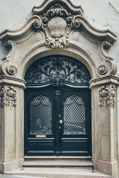 Door in Budapest, Hungary exquisite artisan door hardware is our specialty > www.baltica.com