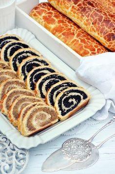 A bejgli, ami nem reped ki, sok-sok töltelékkel (bögrésen is) – Rupáner-konyha Hungarian Desserts, Hungarian Recipes, Swedish Recipes, Sweet Recipes, Waffle Cake, Torte Cake, Good Food, Yummy Food, Baking Muffins