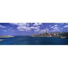 Valletta Malta Canvas Art - Panoramic Images (36 x 12)
