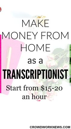 Are you ready to start a new side hustle this new year? Start the most popular work at home job, Transcription today. Read this post to find all the details about being a Transcriber.