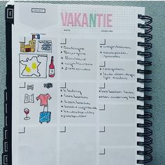 Vacation planning in the Get to Work Book Planners, Dating, Bullet Journal, Vacation, How To Plan, Books, Instagram, Quotes, Vacations