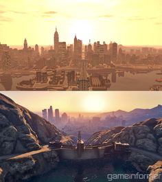 Comparisons: GTA 4 vs. GTA 5 -