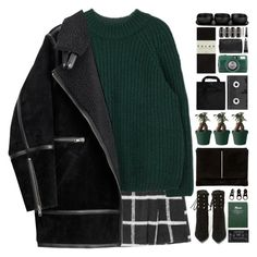 """#692"" by giulls1 ❤ liked on Polyvore featuring H&M, Jeffrey Campbell, Dune, Muuto, Full Tilt, Black+Blum, Luckies, Falke, Tina Frey Designs and Grown Alchemist"