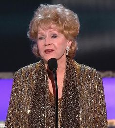 Lifetime achievement: Debbie Reynolds was honoured on Sunday night with a SAG Awards Lifetime Achievement Award.