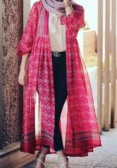 Stylish Summer Outfits, Stylish Dresses For Girls, Stylish Clothes For Women, Stylish Dress Designs, Designs For Dresses, Pakistani Fashion Party Wear, Pakistani Dress Design, Iranian Women Fashion, Muslim Fashion