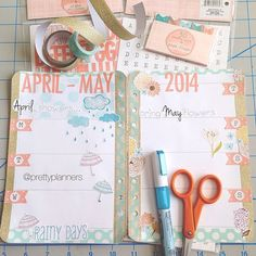 #ShareIG Pic from Sunday of my layout in progress. Will post another of the finished product tomorrow. #planner #agenda #organiser #kikkik #filofax #plannernerds #planneraddicts #target #targetdollarspot #fiskars #mymindseye #mme #aprilshowersbringmayflowers
