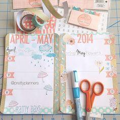 #ShareIG Pic from Sunday of my layout in progress. Will post another of the finished product tomorrow. #planner #agenda #organiser #kikkik #filofax #plannernerds #planneraddicts #target #targetdollarspot #fiskars #mymindseye #mme #aprilshowersbringmayflowers