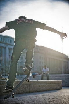 Skateboarders at Freedom Plaza 4 (Washington, DC) by gdudg, via Flickr
