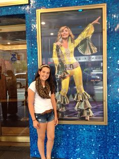 12 years old.. 60 times seeing the show, Became the biggest Mamma Mia fan ever.