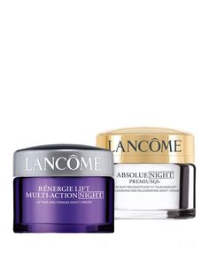 Gift with any $39.50 Lancome purchase! Choose your night moisturizer
