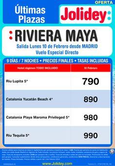 Oferta Riviera Maya Ultimas Plazas desde 790€, salida Lunes 10 de Febrero desde Madrid ultimo minuto - http://zocotours.com/oferta-riviera-maya-ultimas-plazas-desde-790e-salida-lunes-10-de-febrero-desde-madrid-ultimo-minuto/