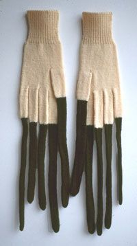 Freddie Robins | long finger gloves