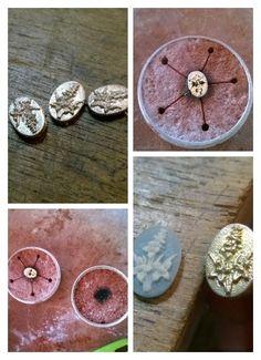 Casting silver in sand / Zandgieten met zilver