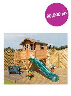 Play House for some summer fun in the garden #pinforpoints