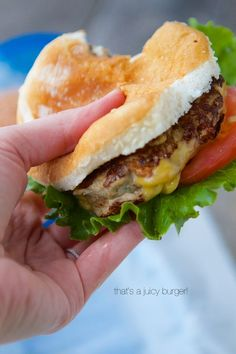 This turkey burger recipe will be the juiciest and most delicious burger you ever did make. One secret ingredient takes these burgers over the top!