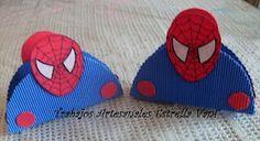 cumpleaños Spiderman SERVILLETEROS - Visit to grab an amazing super hero shirt now on sale Super Hero Shirts, Birthday Parties, Happy Birthday, Ideas Para Fiestas, Superhero Party, Holidays And Events, Birthdays, Halloween, Crafts
