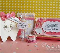 Tooth Fairy Gift Set - ScrappinCookie. So sweet.