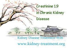 Creatinine 1.9 in Chronic kidney disease is it possible to reverse it ? As we all know there are many factors can induce creatinine level goes high, but no matter what causes, creatinine 1.7 can be reversed with timely treatment.