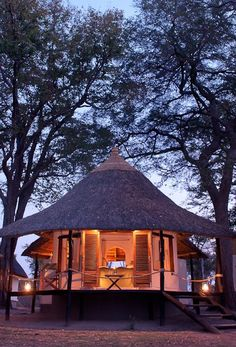 Classic African elegance at Nsefu Lodge.