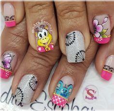 Pedicure, Nail Art, Nails, Pretty, Beauty, Ideas, Nail Designs, Work Nails, Make Art