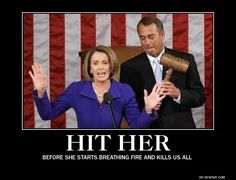 Why is she still in politics? All she does is slander.