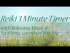 Reiki Timer - Deeply Relaxing Reiki Music with Sounds of the Sea and 3 minute Bell Timer - YouTube