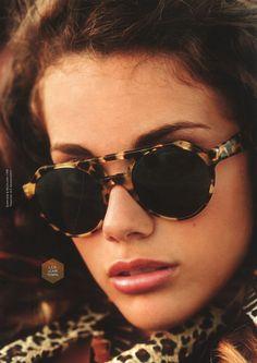 L.G.R - leopard style sunglasses
