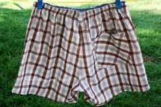make your own comfy boxer shorts for hubby, boyfriend or maybe even for yourself!!!