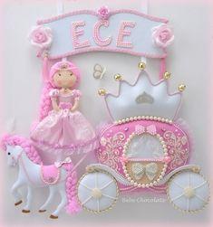 Molde Cavalo e Carruagem de Princesa! Linda decoração para quarto de menina e porta maternidade Faça você mesma lindas peças artesanais...