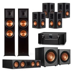 Home theaters outdoor Klipsch Reference Premiere Home Theater System with Marantz AV Receiver Klipsch Home Theater, Bose Home Theater, Wireless Home Theater System, Best Home Theater System, Home Theater Receiver, Home Theater Rooms, Home Theater Design, Audio System, Karaoke Player