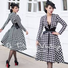 Women Clothing Brand Of The Day is: Le Palais Vintage - pinup-fashion. Women ClothingSource : Brand Of The Day is: Le Palais Vintage - pinup-fashion. Mode Rockabilly, Rockabilly Fashion, 1950s Fashion, Vintage Fashion, Rockabilly Ideas, Look Retro, Look Vintage, Vintage Glamour, Vintage Winter