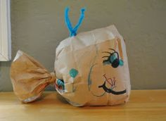 {Paper Bag Whale} Too cute. #CampSunnyPatch #Ocean #UnderTheSea