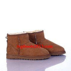 Cheap UGG 5854 Classic Mini Boots Chestnut Sale