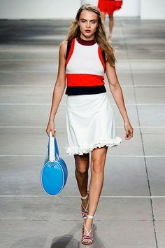 Topshop Unique womenswear, spring/summer 2015, London Fashion Week