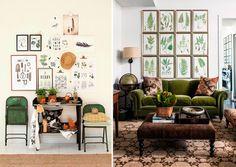 Blog de Ámbar Muebles: Avance tendencias en decoración 2016: verdes y tonos naturales
