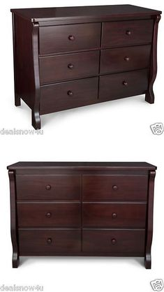 Baby Dressers 134279 Dream On Me Back Bay Chest Combo In Cherry Transitional Dresser It Now Only 258 59 Ebay
