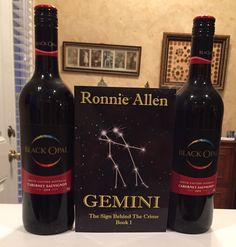 Finally, our Black Opal wine arrived. I need another party. for Aries' release. Crime Books, Wine List, Cabernet Sauvignon, Black Opal, Gemini, Bottle, Party, Twins, Wine Chart