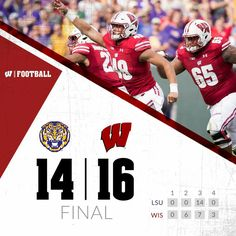 Wisconsin beat LSU at Lambeau to get the 2016 season off to a fantastic start