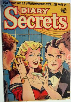 Vintage Comic Book - Diary Secrets #28 by riptheskull, via Flickr