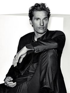 Matthew McConaughey, photographed by Eric Ray Davidson for L'Optimum, Dec/Jan 2014, 2015.