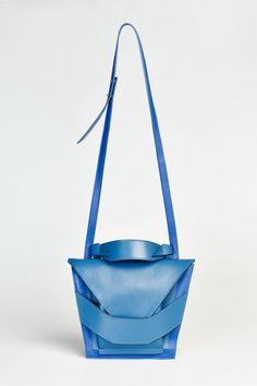 Layered Blues Bag