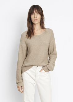Textured Pullover for Women | Vince
