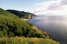 Sightseeing on Cabot Trail: Cap Rouge Cabot Trail, Most Visited, Nova Scotia, Trail Running, Bed And Breakfast, Ideal Home, National Parks, Explore, Vacation