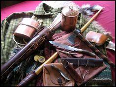 mountain man rendezvous gear Bushcraft Skills, Bushcraft Gear, Bushcraft Camping, Kayak Camping, Camping Survival, Camping Life, Survival Prepping, Survival Gear, Mountain Man Rendezvous