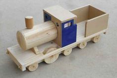 Free wooden toy train plans instant PDF download, easy build beginner project with instructions.