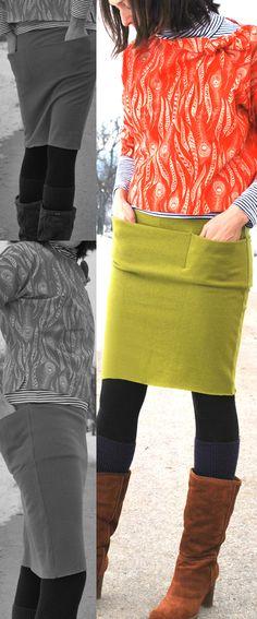 I like the pencil skirt