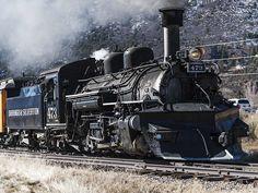 Durango & Silverton RR in Colorado