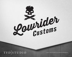 TFD Studio - Professionally designed pre-made skull garage logo available on etsy.com! Only $75!